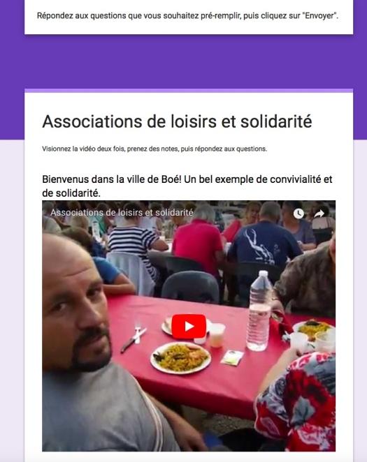 Associations de loisirs et solidarité